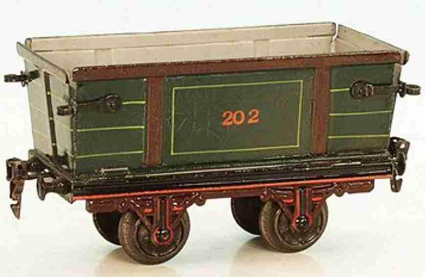 maerklin 1832/1 spielzeug eisenbahn ruebentransportwagen spur 1
