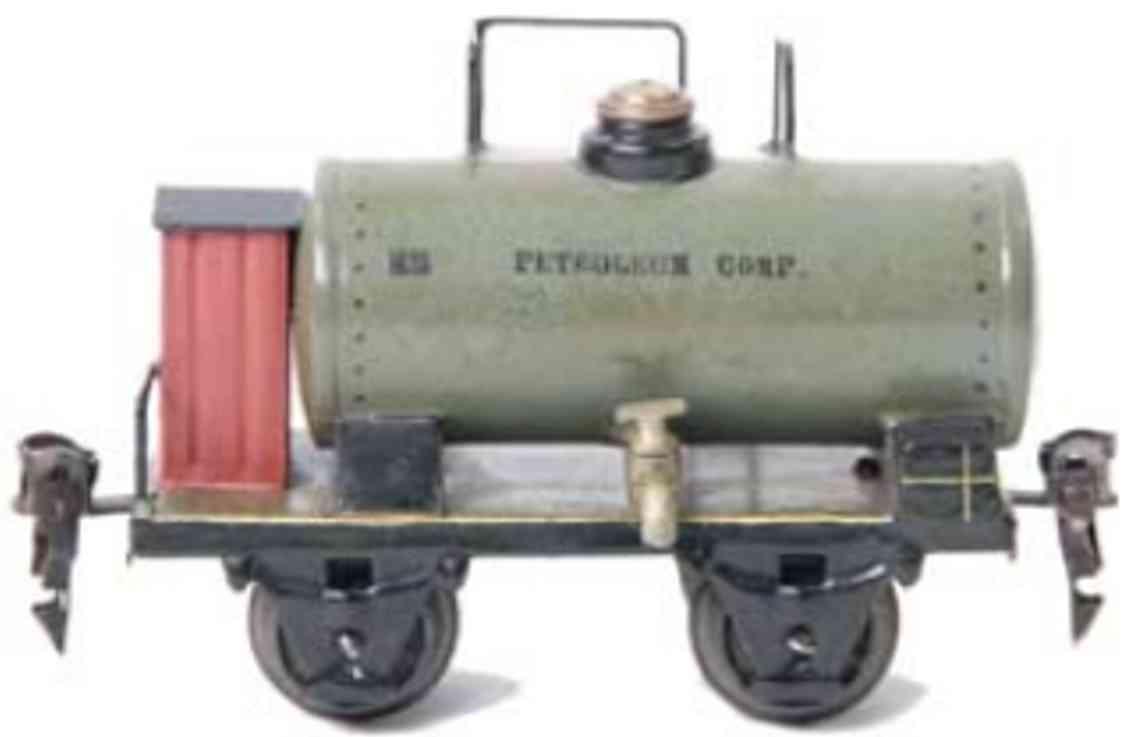 marklin maerklin 1839/0 1922 railway toy petroleum car gruengrau spur 0