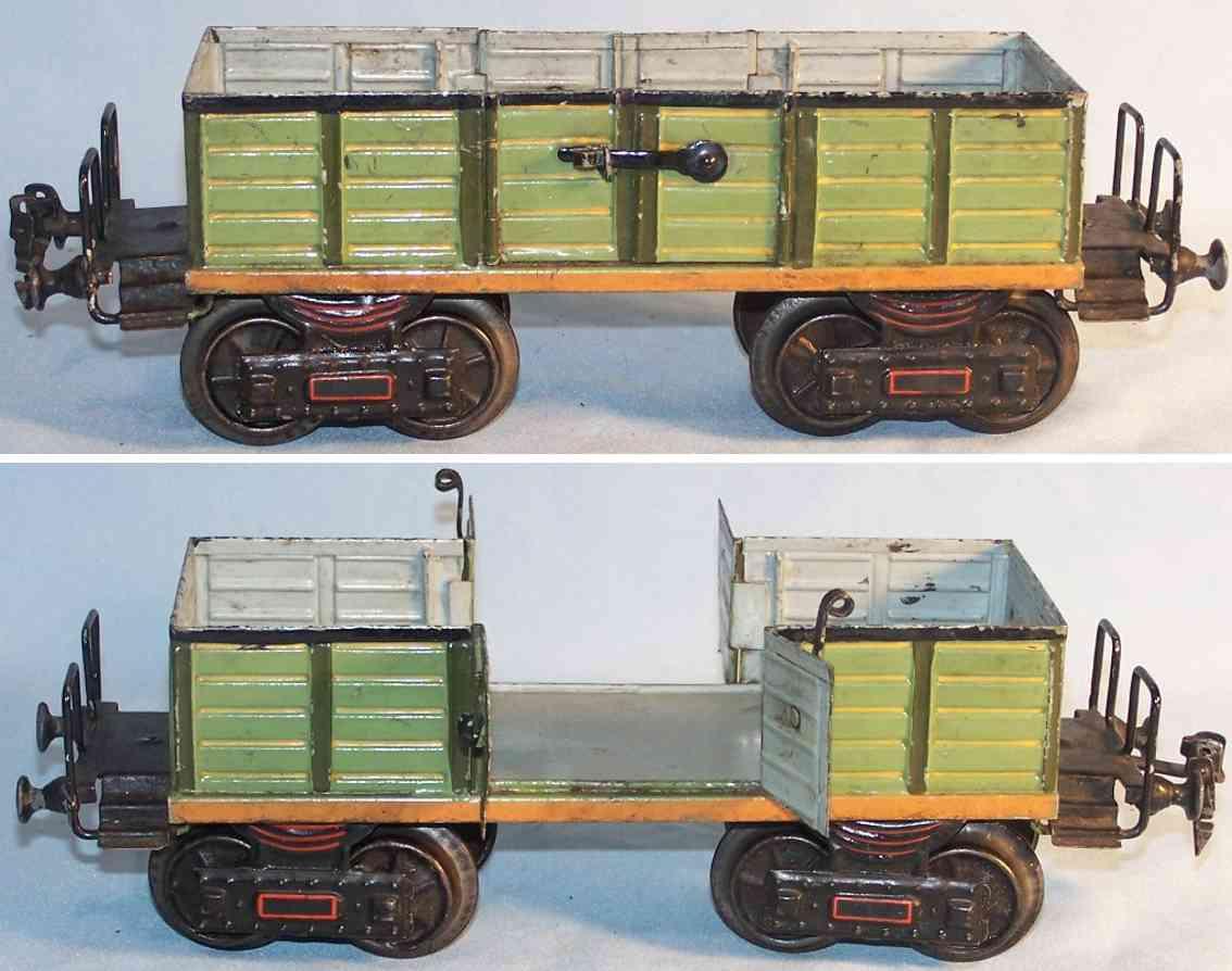 marklin 1845/1 spielzeug eisenbahn offener guterwagen spur 1