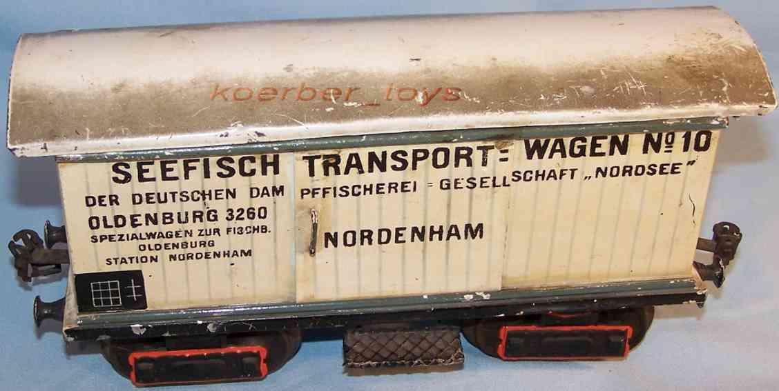 maerklin 1849/1 spielzeug eisenbahn seefischwagen spur 1