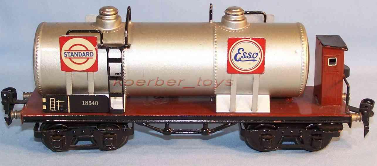 maerklin 1854/0 st spielzeug eisenbahn kesselwagen standard essolub spur 0