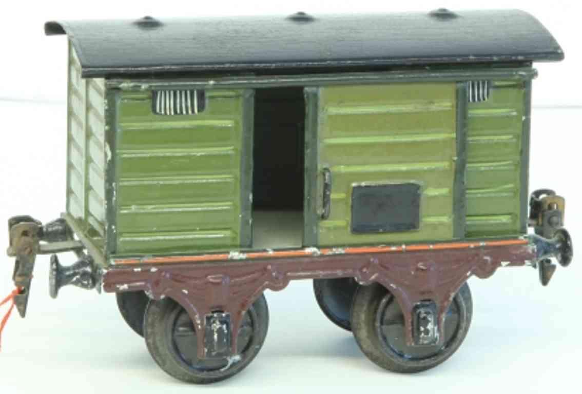 maerklin 1857/1 spielzeug eisenbahn gedeckter gueterwagen spur 1