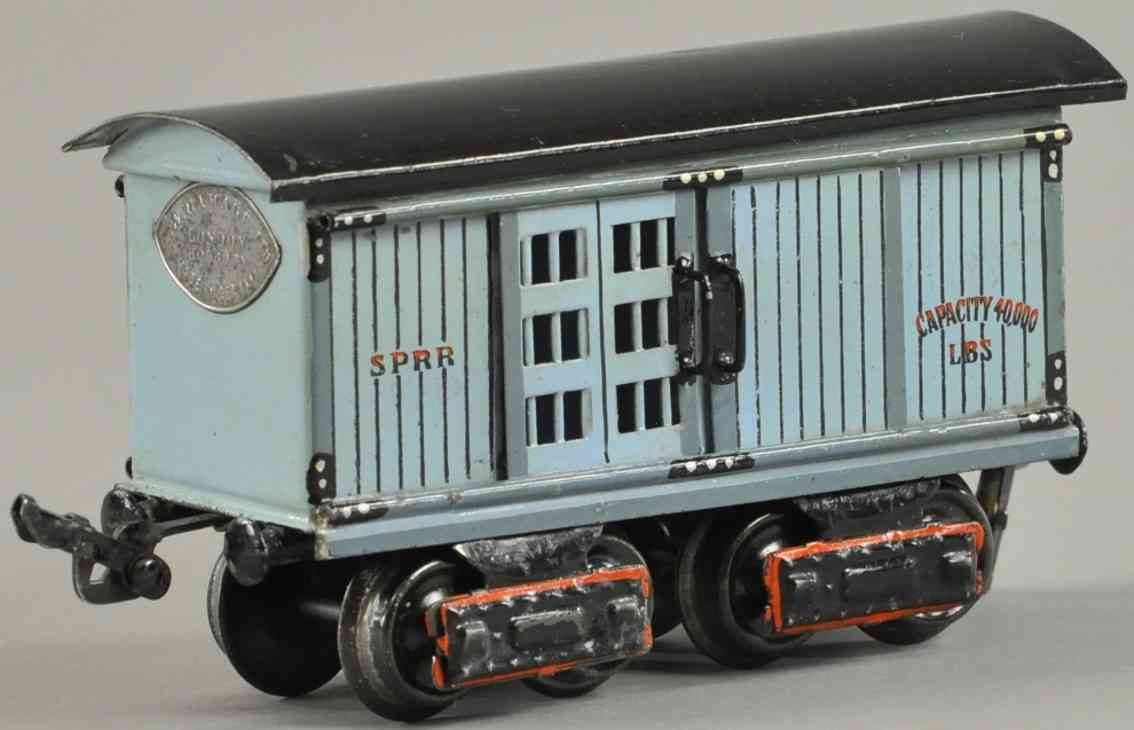 maerklin 1871/0 sprr eisenbahn amerikanischer pferdetransportwagen spur 1