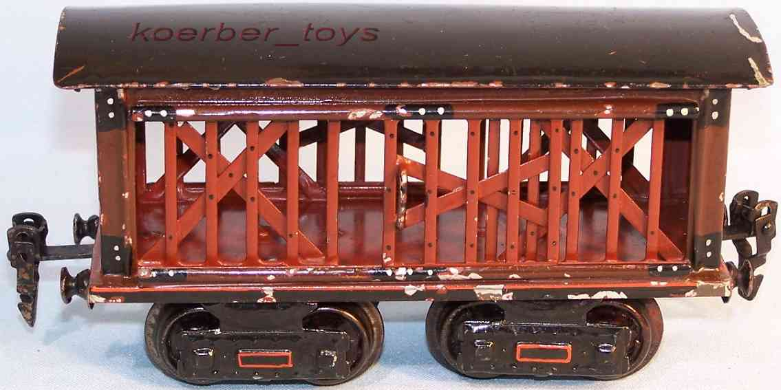 maerklin 1871/0 spielzeug eisenbahn viehtransportwagen spur 0