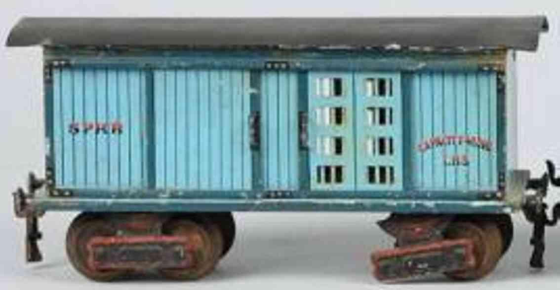 maerklin 1871/1 sprr eisenbahn amerikanischer pferdetransportwagen spur 1