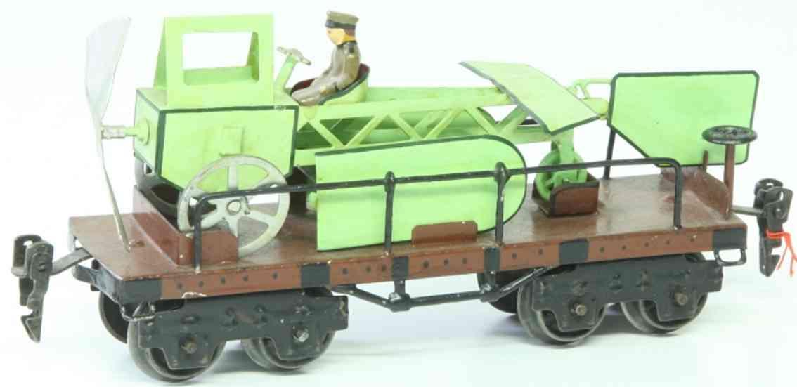 maerklin 1881/0 spielzeug eisenbahn flugzeugtransportwagen spur 0