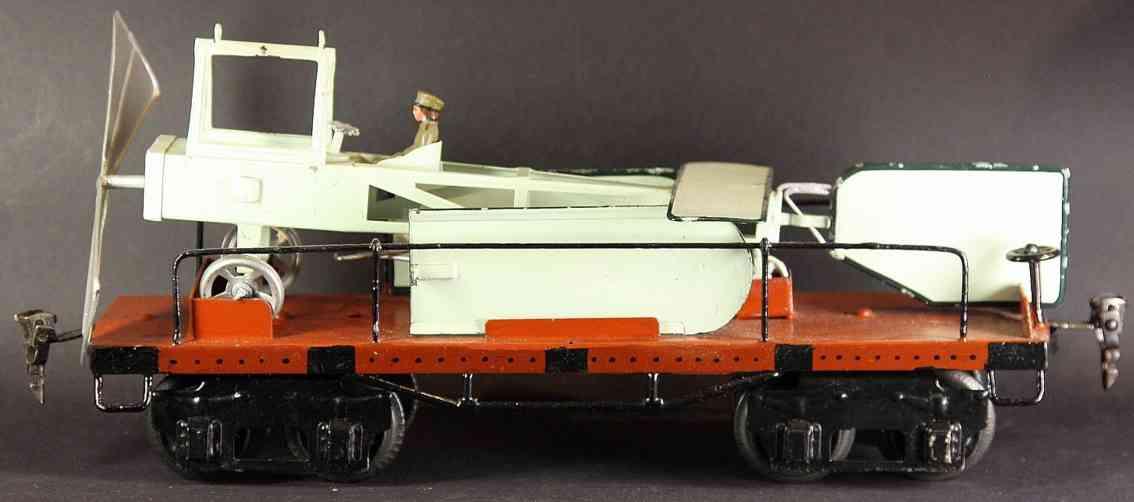 maerklin 1881/1 flugzeugtransportwagen spur 1