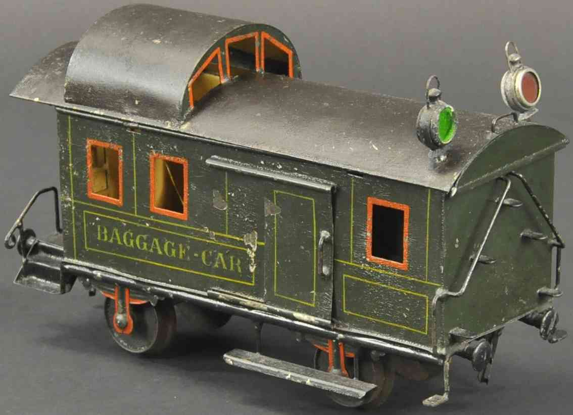 maerklin 1887/II eisenbahn amerikanischer gepaeckwagen spur 2