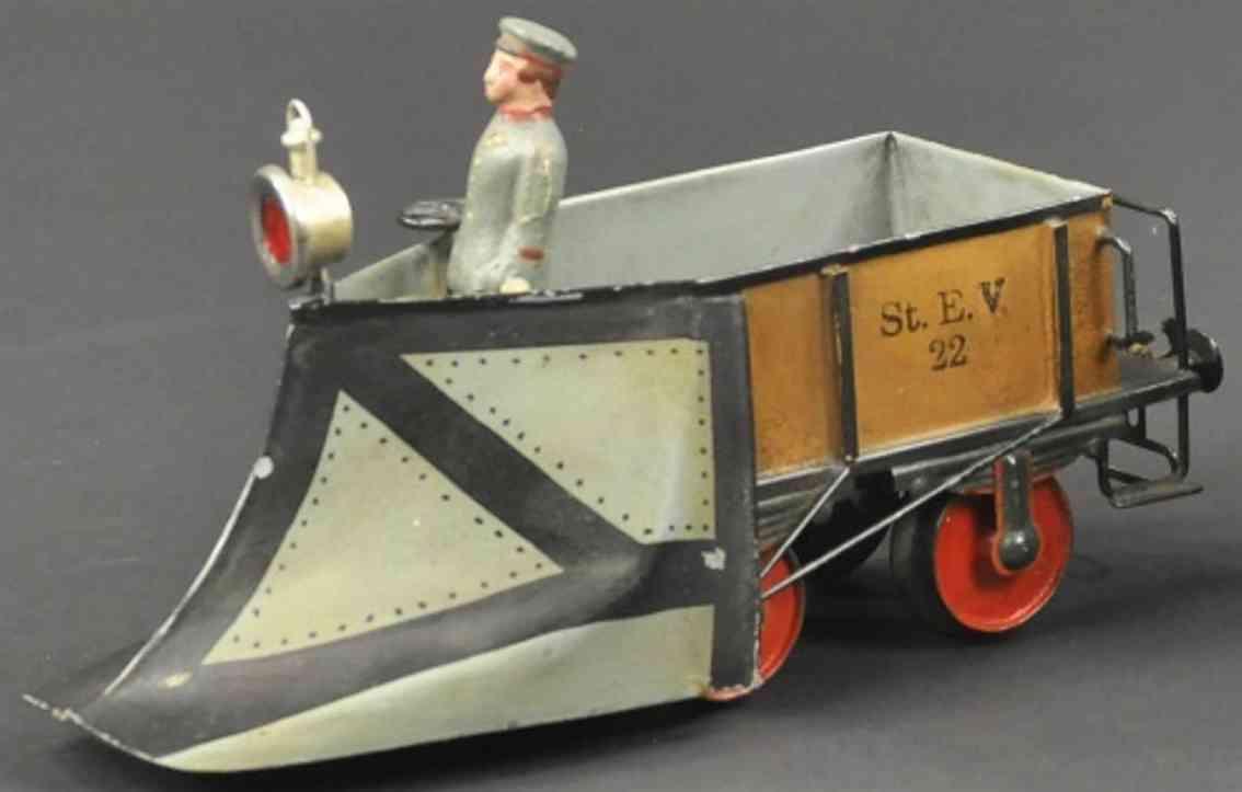 maerklin 1888/II spielzeug eisenbahn schneepflug spur 2