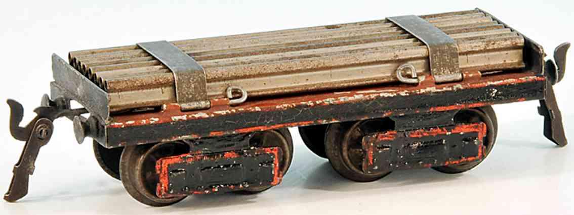 maerklin 1896/0 a spielzeug eisenbahn schienentransportwagen spur 0
