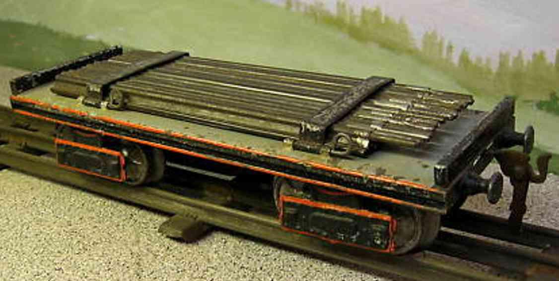 maerklin 1896/1 a spielzeug eisenbahn schienentransportwagen spur 1