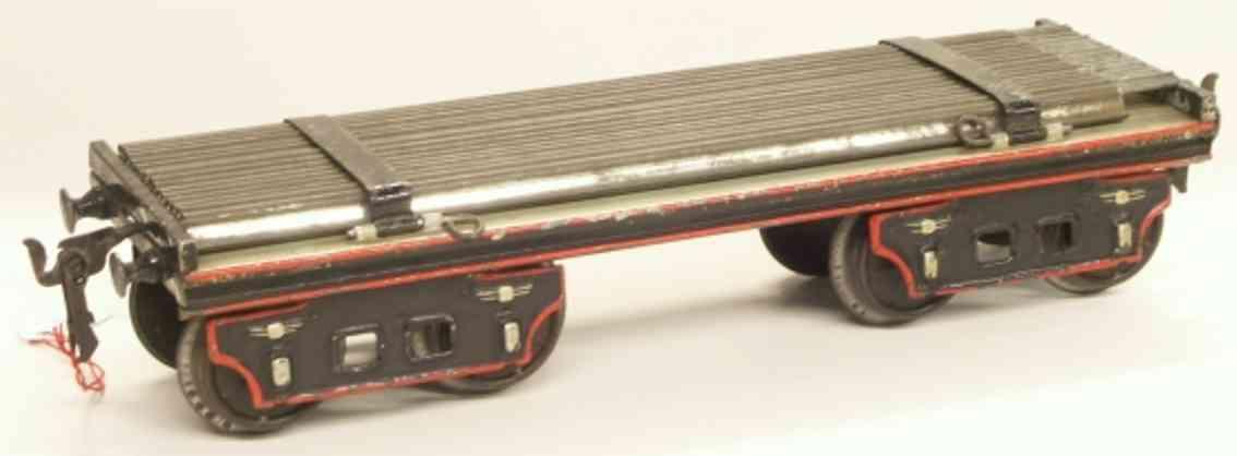 maerklin 1896/2 a spielzeug eisenbahn schienenwagen mit schienen spur 2