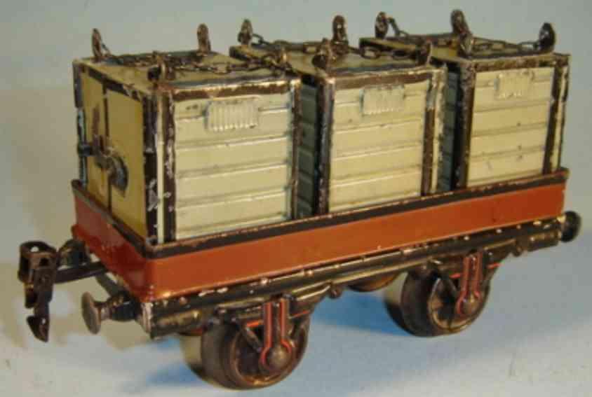 maerklin 1898/1 spielzeug eisenbahn containerwagen spur 1