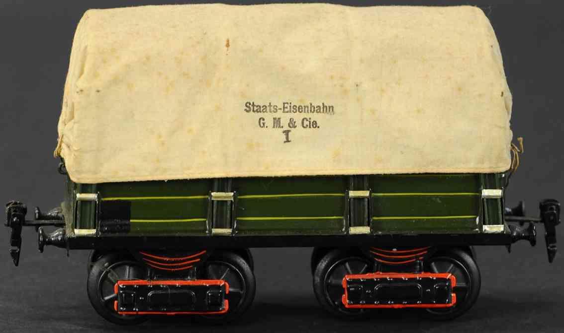 maerklin 1910/1 spielzeug eisenbahn planewagen spur 1
