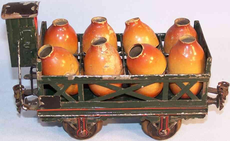 maerklin 1913/1 spielzeug eisenbahn saeuretransportwagen bremserhaus spur 1