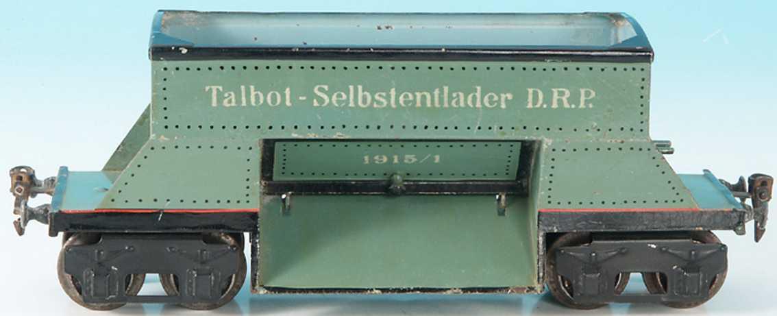 maerklin 1915/1 spielzeug eisenbahn gueterwagen talbot wagen spur 1