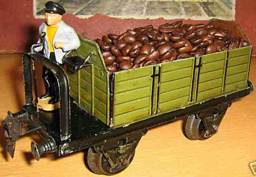 maerklin 1918/1 spielzeug eisenbahn hochbordwagen spur 1