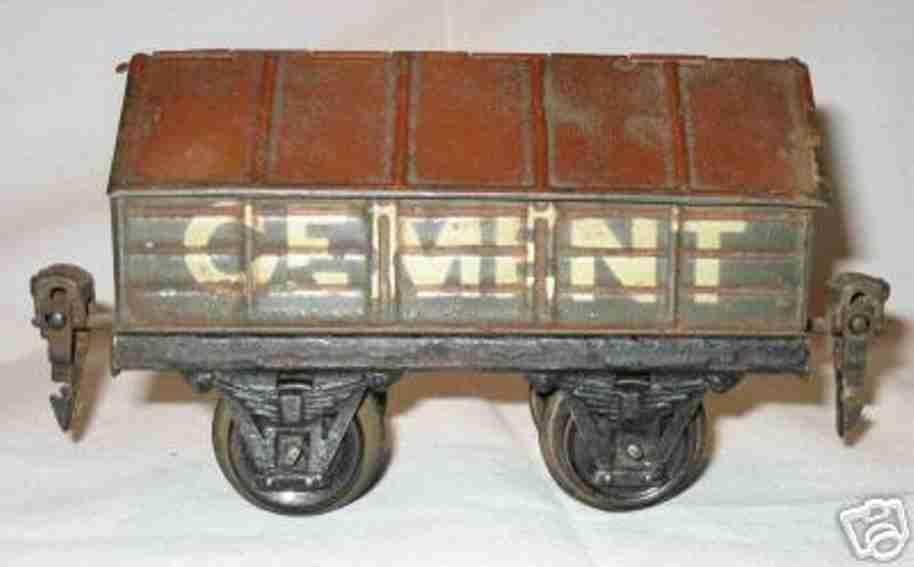 maerklin 1919/0 spielzeug eisenbahn zementwagen spur 0
