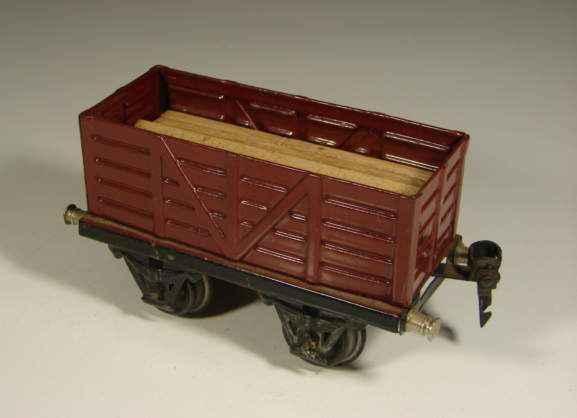 maerklin 1921/0 spielzeug eisenbahn hochbordwagen spur 0