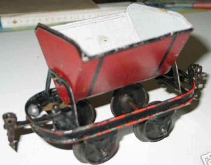 maerklin 1921/1 spielzeug eisenbahn kippwagen spur 1
