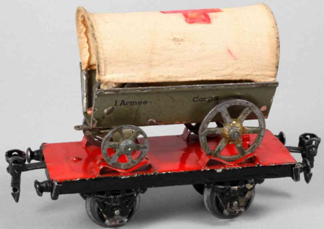 marklin maerklin 1925/8405 railway toy platform car covered wagon gauge 0