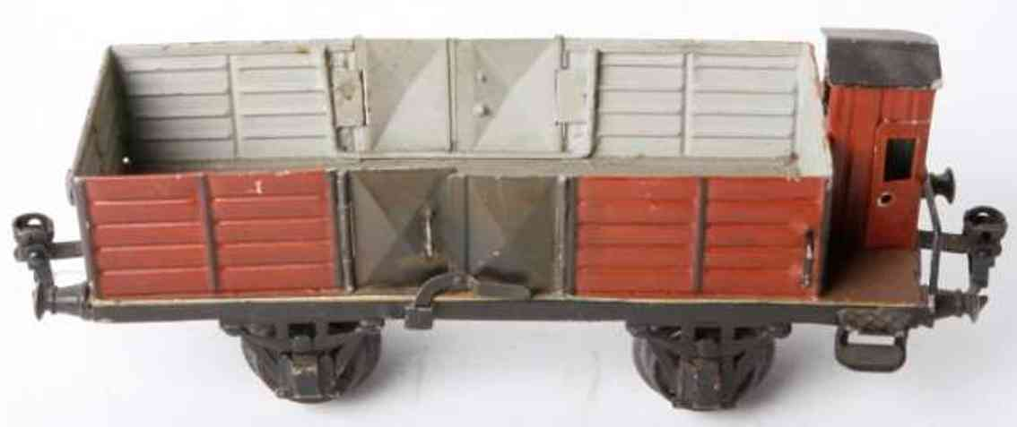 maerklin 1928/1 spielzeug eisenbahn offener gueterwagen spur 1