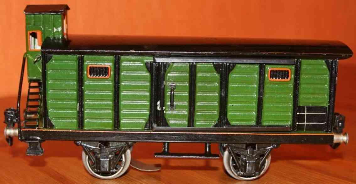 maerklin 1929/1 b spielzeug eisenbahn gedeckter gueterwagen spur 1
