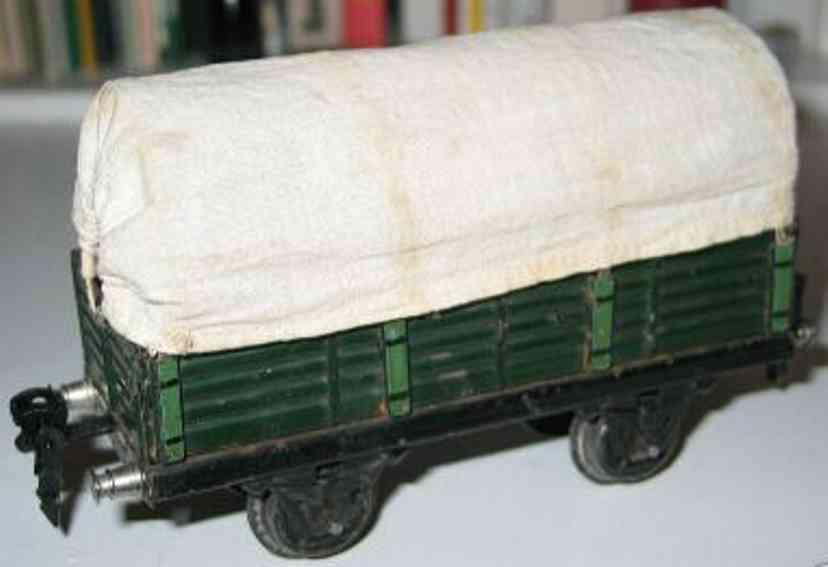 maerklin 1939/0 spielzeug eisenbahn planewagen gruen spur 0