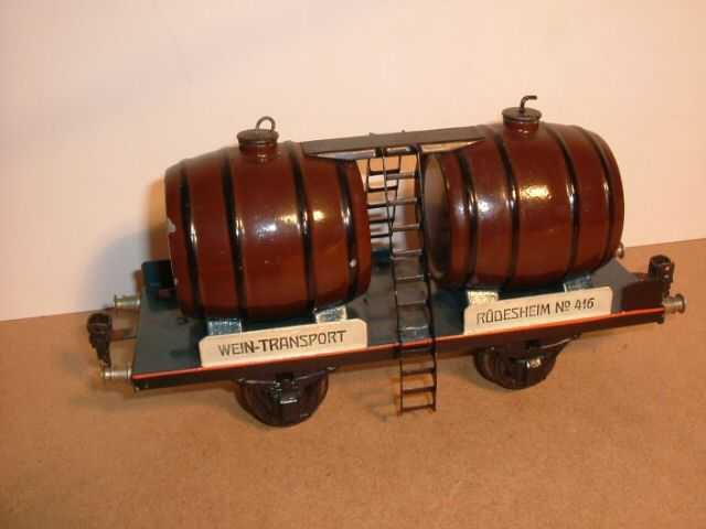 maerklin 1940/1 spielzeug eisenbahn weinwagen spur 1