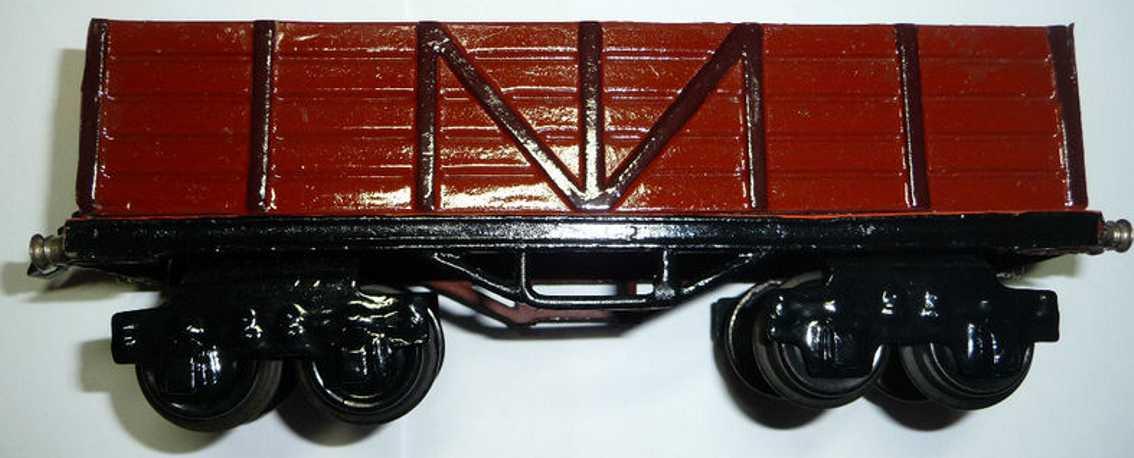 maerklin 1951/0 spielzeug eisenbahn hochbordwagen spur 0