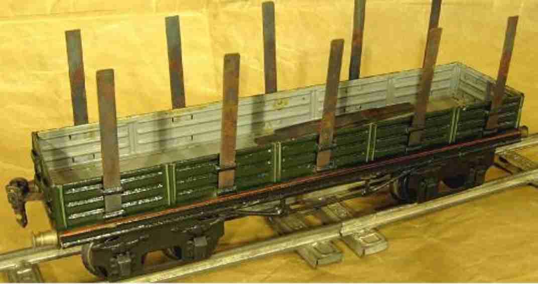 maerklin 1952/1 spielzeug eisenbahn rungenwagen spur 1
