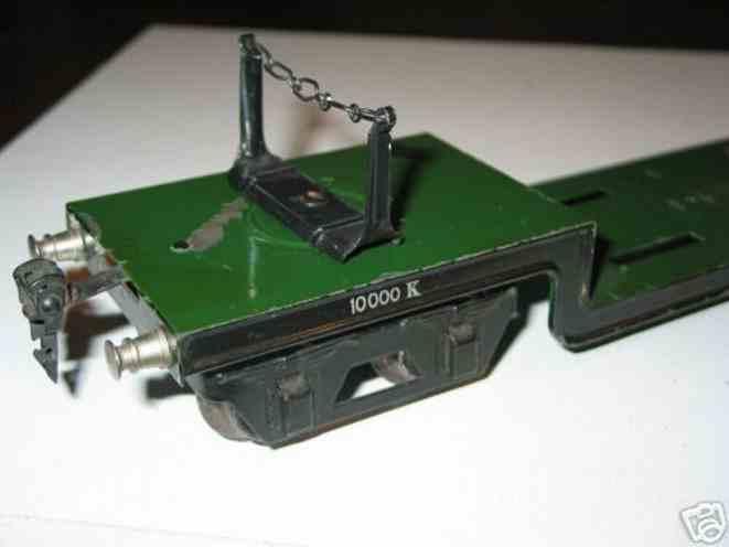 maerklin 1955/1 spielzeug eisenbahn tiefladewagen spur 1