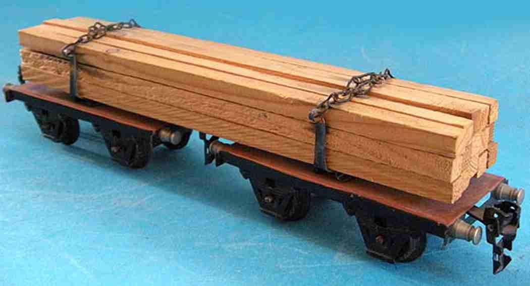 maerklin 1961/0 g spielzeug eisenbahn langholzwagen spur 0