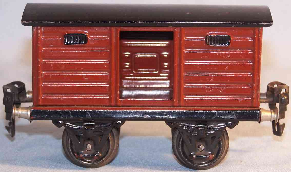 marklin 1965/0 railway toy box car boxcar gauge 0