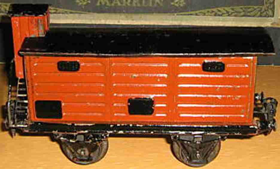 maerklin 1967/1 spielzeug eisenbahn gedeckter gueterwagen spur 1
