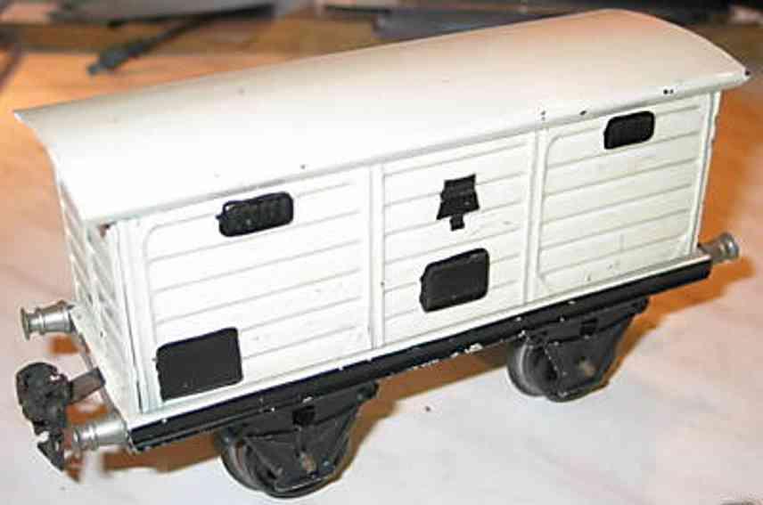maerklin 1968/1 spielzeug eisenbahn bierwagen spur 1