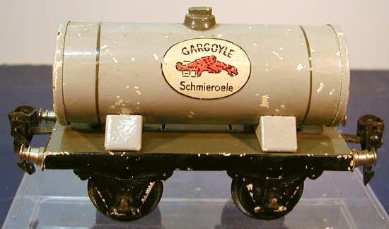 maerklin 1973/0 spielzeug eisenbahn kesselwagen grau spur 0 gargouyle