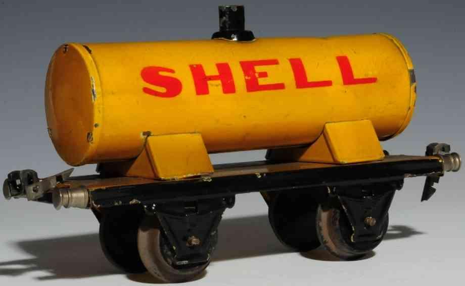 maerklin 1973/1 spielzeug eisenbahn kesselwagen shell spur 1