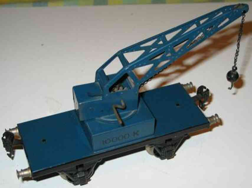 maerklin 1974/1 spielzeug eisenbahn kranwagen spur 1
