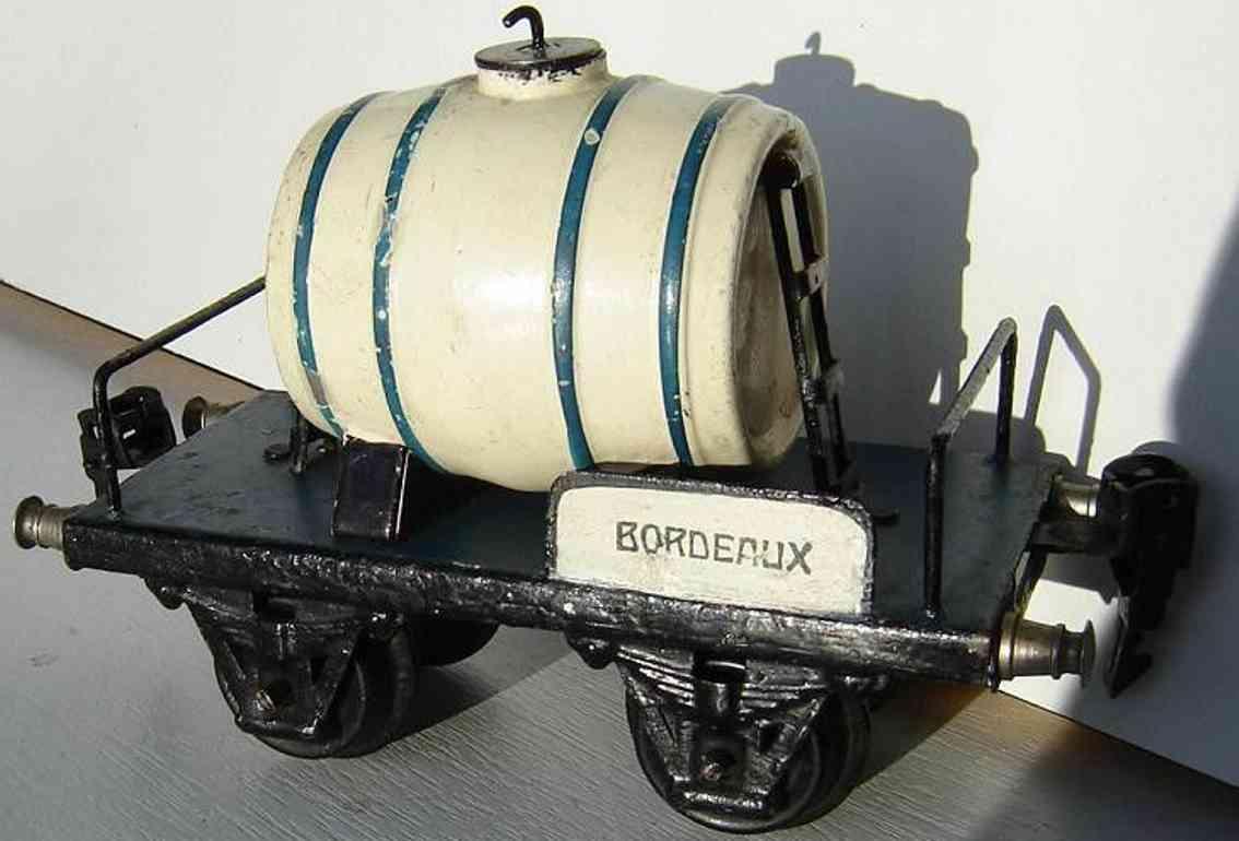 maerklin 1976/0 spielzeug eisenbahn franzoesischer weinwagen blau spur 0