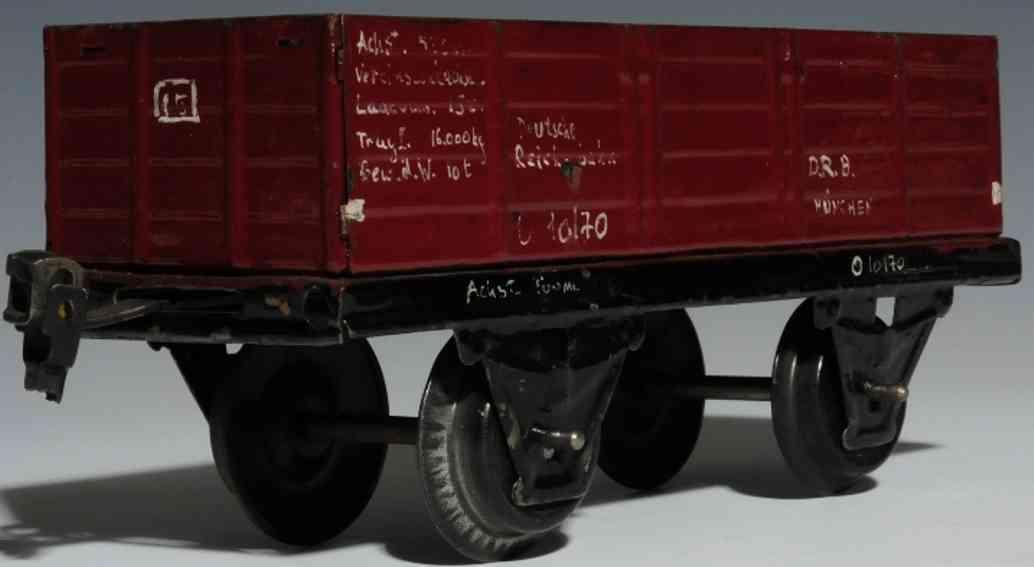 maerklin 1981/1 spielzeug eisenbahn offener gueterwagen spur 1
