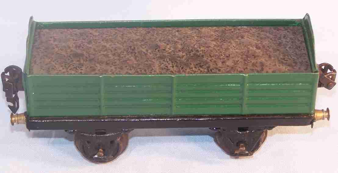 maerklin 1982/0 spielzeug eisenbahn hochbordwagen spur 0