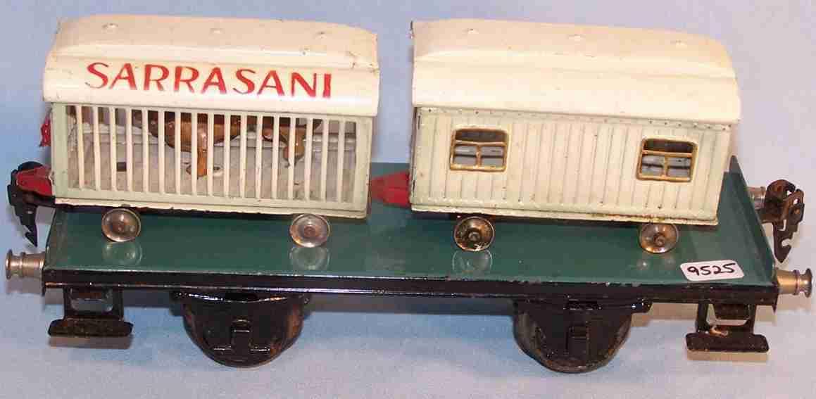 maerklin 1983/1 spielzeug eisenbahn plattformwagen sarrasani spur 1