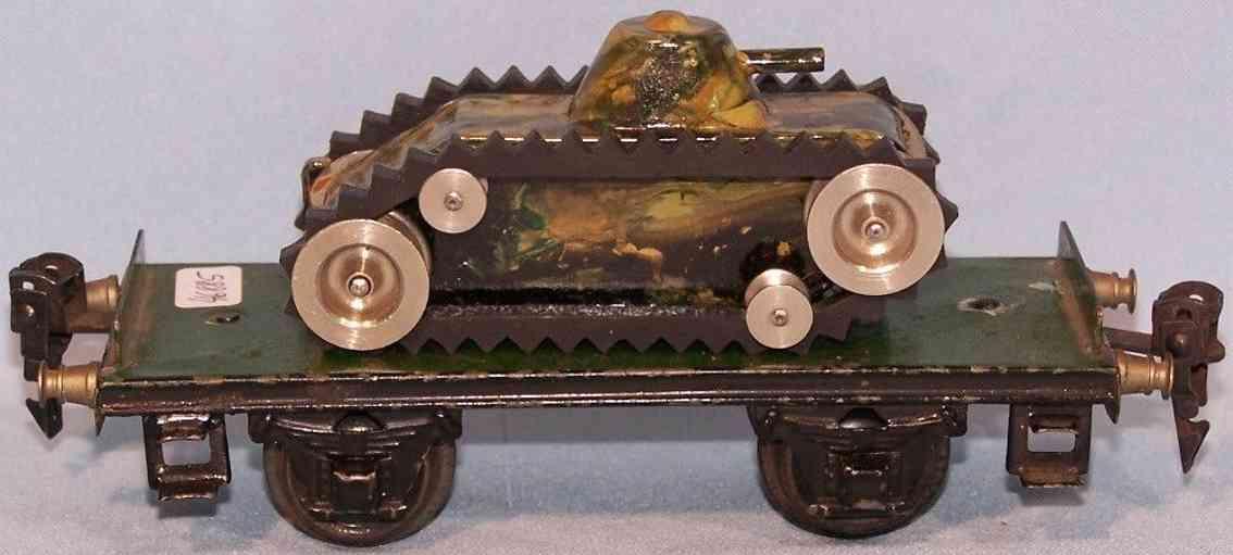 maerklin 1984/0 m spielzeug eisenbahn plattformwagen panzer 1086/00 spur 0