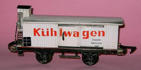 maerklin 1987/1 spielzeug eisenbahn kuehlwagen spur 1