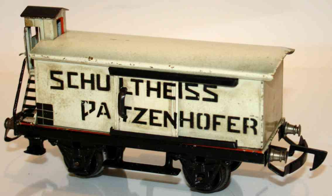maerklin 1988/0 sp bierwagen schultheiss patzenhofer spur 0