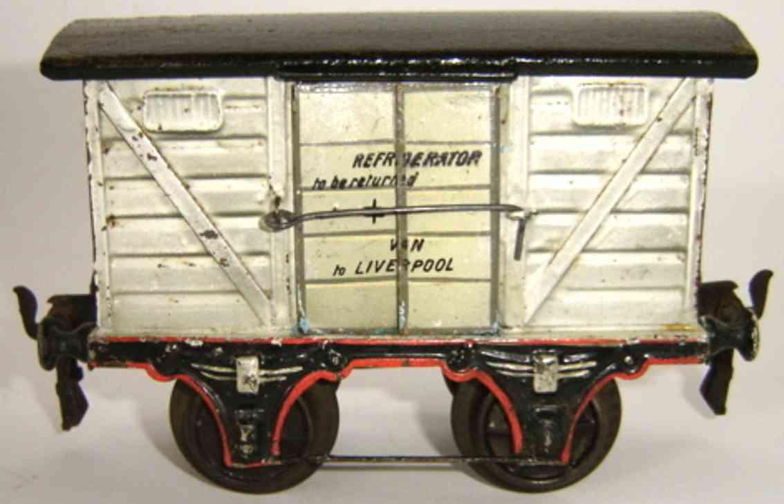 maerklin 1908/1 spielzeug eisenbahn englischer gefrierwagen spur 1