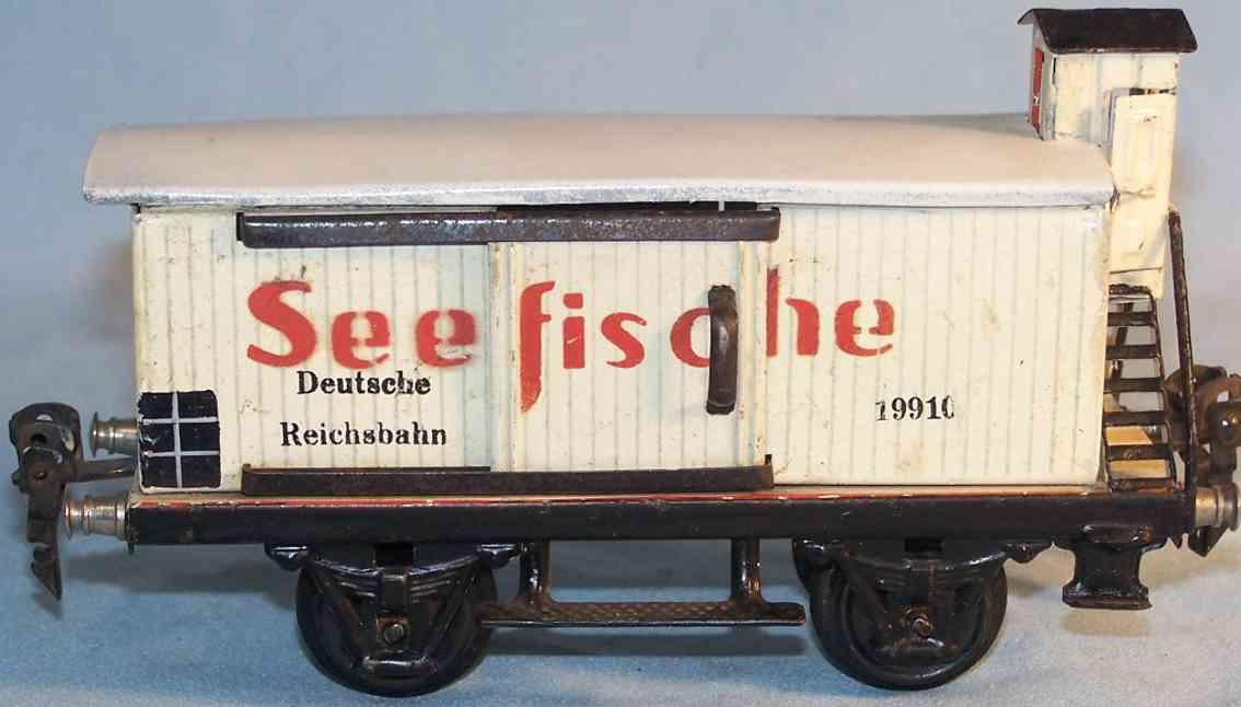 maerklin 1991/0 spielzeug eisenbahn seefischwagen spur 0