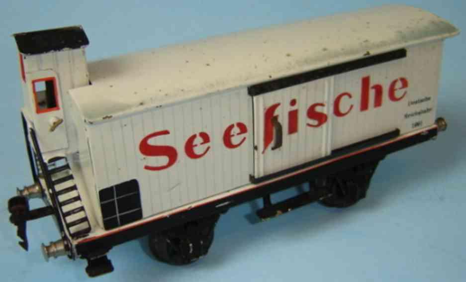 maerklin 1991/1 spielzeug eisenbahn seefischwagen spur 1