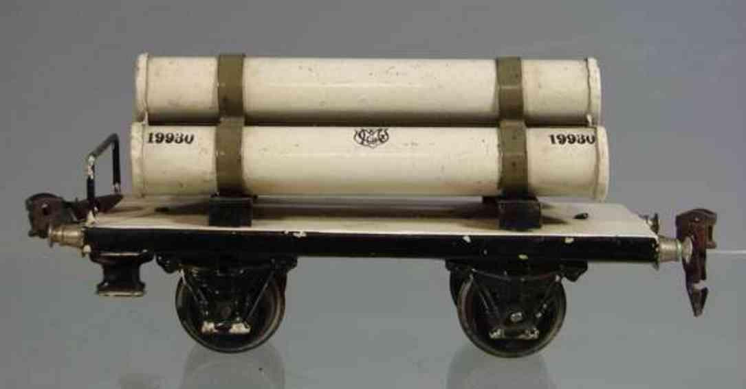 maerklin 1993/0 spielzeug eisenbahn gasroehrenwagen spur 0